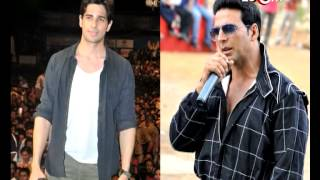 Akshay Kumar training Siddharth Malhotra in Martial Arts! | Bollywood News