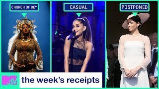 Beyoncé Buys a Church & Are Ariana Grande & SNL's Pete Davidson Dating? | The Week's Receipts | MTV - MTV