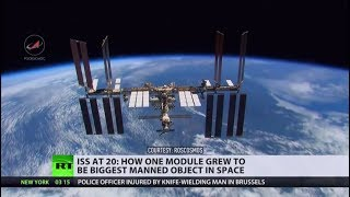 To the moon and back: ISS marks 20th year of space co-operation - RUSSIATODAY