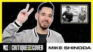Mike Shinoda Reacts To A Cover Of His Song 'Crossing A Line' 🎶 | Critique My Cover | TRL - MTV