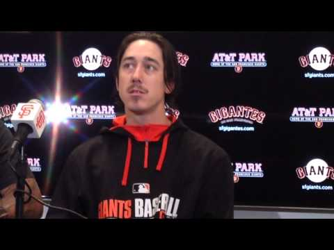 Tim Lincecum post game interview after no-hitter