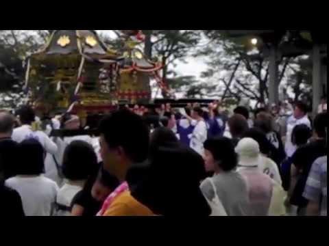 2014年 石川県志賀町 富来八朔祭礼 (2日目 ①)