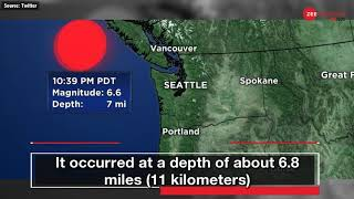 Canada earthquakes: 3 powerful quakes reported near Vancouver Island - ZEENEWS