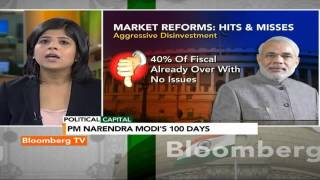 Political Capital- Market Reforms & PM Narendra Modi's 100 Days - BLOOMBERGUTV