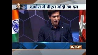 Shah Rukh Khan says he is 'honoured' to receive Crystal Award along side Elton John, Cate Blanchett - INDIATV