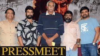 Palasa 1978 Movie Press Meet | Karuna Kumar | Raghu Kunche | TFPC - TFPC