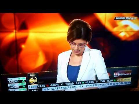 TVN Biznes i Świat o wyborze Korwin-Mikkego