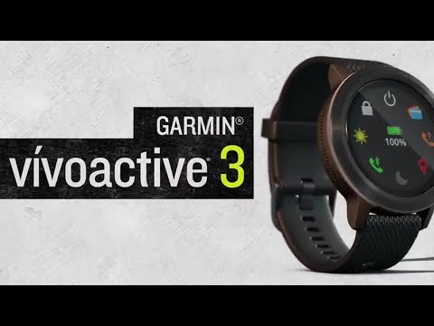 vivoactive 3 GPS-Multisport-Smartwatch im Video 2017 von Garmin