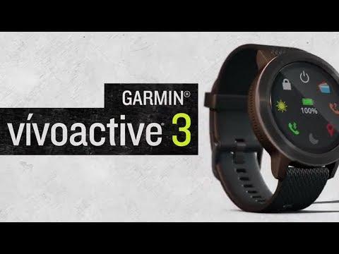 vivoactive 3 GPS-Multisport-Smartwatch im Video 2017 von Garmin
