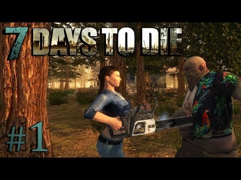 ZOMBIE MINECRAFT | 7 Days to Die #1