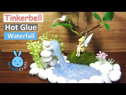 Hot Glue Waterfall Tutorial Tinkerbell Real Life Hot Glue Diy Life Hacks For Crafting Art