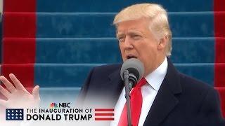 President Donald Trump Calls For Unity Through Patriotism At Inauguration | NBC News - NBCNEWS