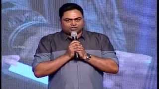 Vamsi Paidipally Speech - Kerintha Audio launch - Sumanth Ashwin, Sri Divya,, Dil Raju - DILRAJU