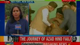 Azad Hind Government 75th Anniversary: PM Narendra Modi hoists tricolour ar Red Fort - NEWSXLIVE