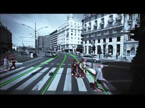 PCW Alerta de Choque con Peatones, Ciclistas y Motociclistas