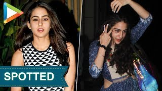 Simmba actress Sara Ali Khan SPOTTED at gym - HUNGAMA