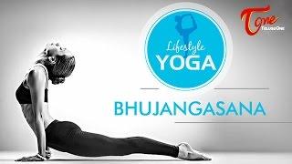Bhujangasana (Cobra Pose) | Lifestyle YOGA | By Madhurima - TELUGUONE
