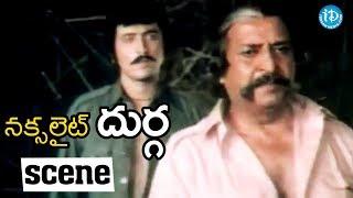 Naxalite Durga Movie Scenes - Sabapathi Plans To Kill Badrayya || Sridevi - IDREAMMOVIES