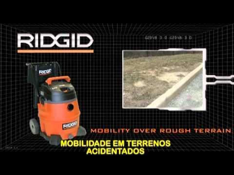 RIDGID -- Aspiradores Profissionais modelo WD-1851