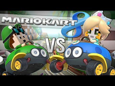 TDM vs STAMPY   Mario Kart 8   Wii U