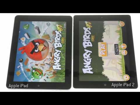 Apple iPad 2 vs iPad performance test