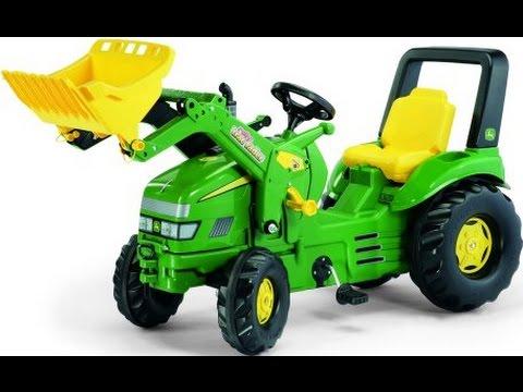 Tracteurs jouets, dessin animé pour les enfants