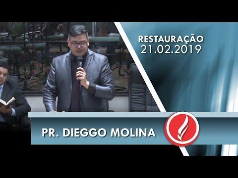 Pr. Dieggo Molina | Deus é quem nos guarda | Sl 121.1 | 21 02 2019