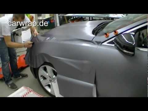 Autofolierung metallic