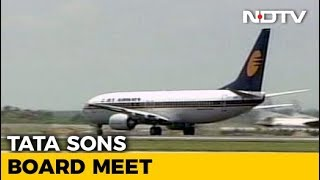 Tata Sons Board Discusses Jet Airways Merger Deal - NDTV