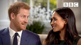 When Prince Harry and Meghan Markle fell in love - The Royal Wedding - BBC - BBC