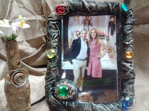 DIY Portaretratos con materiales reciclados / Picture Frames using recycled materials