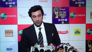 "Ranbir Kapoor: ""Jis tarah se Ye Saal Shuru hua hai, Its just AMAZING"" | Zee Cine Awards 2019 - HUNGAMA"