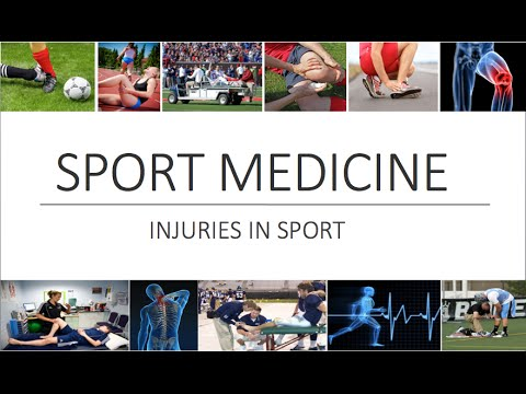 Sport Medicine / Sport Injury: Overview & Introduction PE