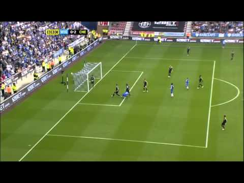 Wigan v  Chelsea (0-2) 19.8.12 All Goals HIGHLIGHTS