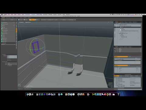 Modo 401 3D Modeling Tutorial - Set Design: The Secret Lab part 3