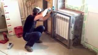 Как спрятать трубы отопления? Монтаж фальшстены из гипсокартона | Лемакс Алматы