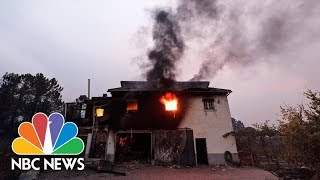 Deadly Wildfires Kill 41 In Spain And Portugal | NBC News - NBCNEWS