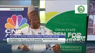 Ogun Governor Amosun speaks on benefits of hosting investors' forum 2018, future plans - ABNDIGITAL
