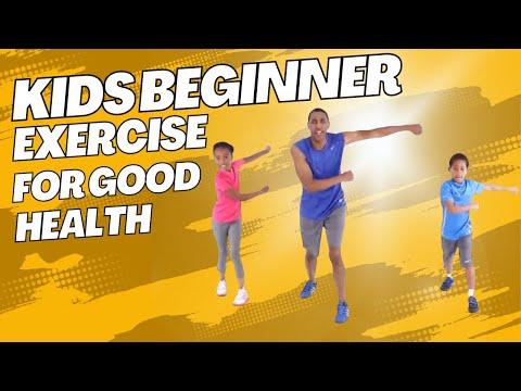 Kids workout video