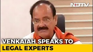 As Venkaiah Naidu Begins Impeachment Consultations, Congress Confident - NDTV