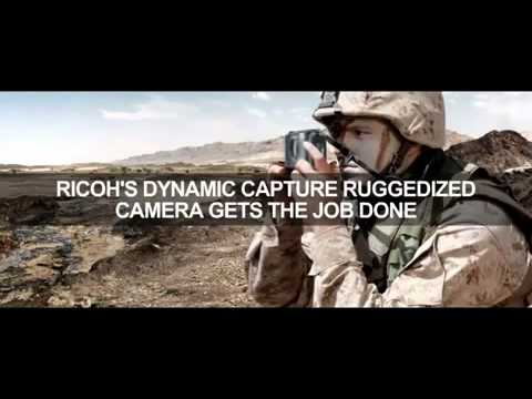 Ricoh G700SE-M Tactical Rugged GPS Camera