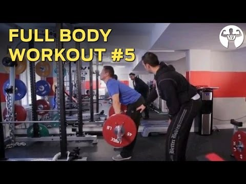 Full Body Workout #5 for Skinny Guys to Build Muscle