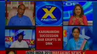 Fight over DMK chief Karunanidhi's seat: Who will get Tamil 39? The XFactor - NEWSXLIVE