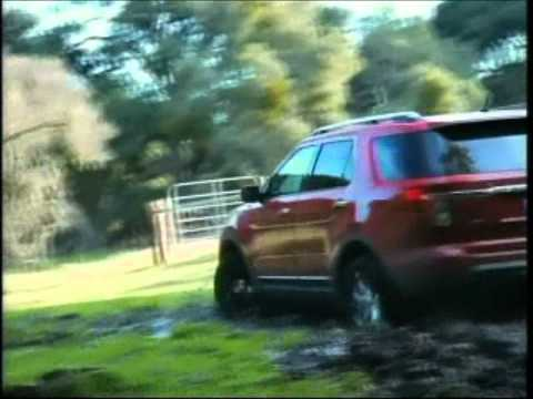 Ford Explorer commercial aired during Fiesta Bowl 1-1-2011