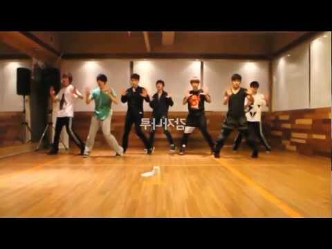 INFINITE - The Chaser mirrored Dance Practice