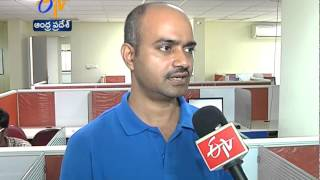 Cyclone Hudhud Hits IT Industry Strongly In Vizag - ETV2INDIA