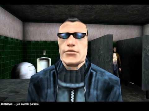 Deus Ex : Malkavian Mod Complete Playthrough v0.25  Part 1