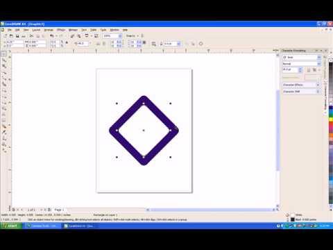 tutorial bikin logo trans tv dengan corel draw x4