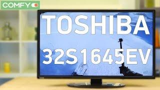 Телевизор Toshiba 32S1645EV - хорошее решение для большинства пользователей - Видео демонстрация