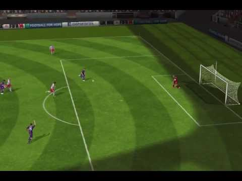 FIFA 14 iPhone/iPad - RB Salzbourg vs. Austria Vienne